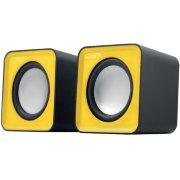 Колонки CBR CMS 90 Yellow, 2.0, USB, 2х3 Вт (6 Вт RMS)