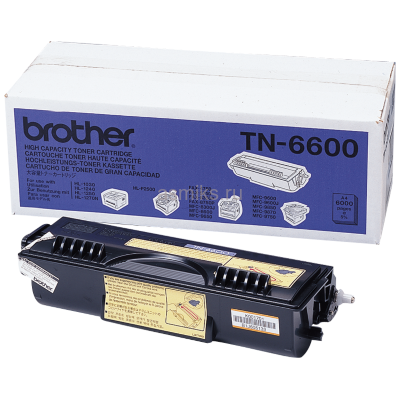 Тонер-картридж Brother TN-6600 (black)