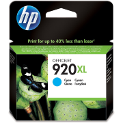 Картридж HP 920XL (cyan) CD972AE