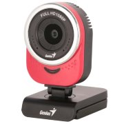 Genius QCam 6000 Red (1080p Full HD, 360°, mic, USB) 32200002401