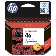 Картридж HP 46 (color) 750 стр. CZ638AE Оригинальный