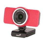 Genius ECam 8000 Red (1080p Full HD, 360°, mic, USB) 32200001401