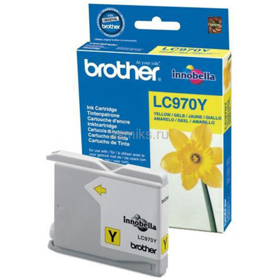 Картридж Brother LC-970Y (yellow)