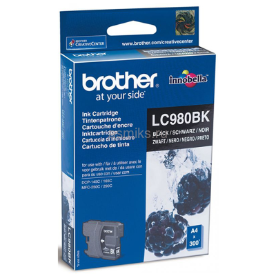 Картридж Brother LC-980BK (black)